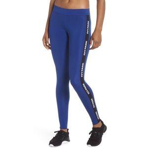 IVY PARK Blue Logo Tape Active Legging Tights